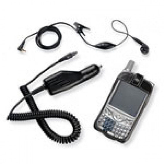 Kit Treo 650 Carregador Veicular Headset Estojo Palm 3197ww