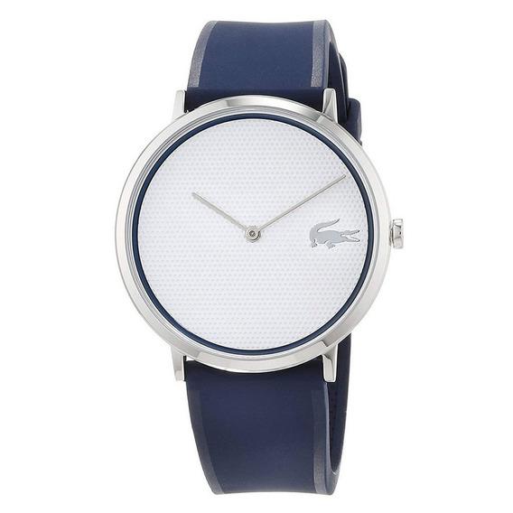 Reloj Análogo Marca Lacoste Modelo: 2070002 Color Azul Para