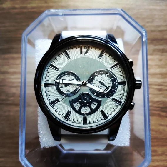 Relógio Masculino Alpha - Silver White - Pronta Entrega
