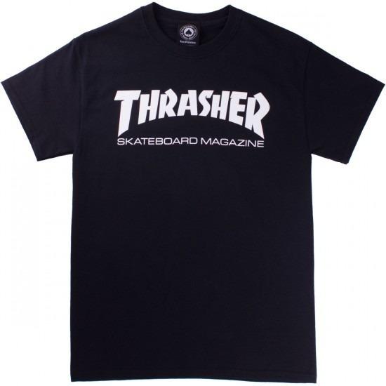Remera Thrasher 100% Original Thrasher Mag Nuevo Modelo