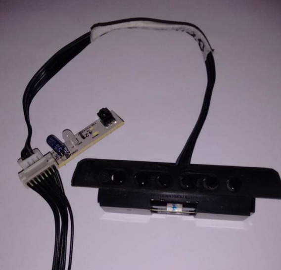 Teclado De Funções + Sensor Do Controle Da Tv Cce C420