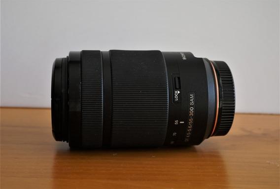 Lente Sony 55-300mm A Mount