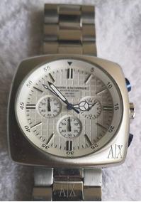 Relógio Armani Exchange Retang. Original