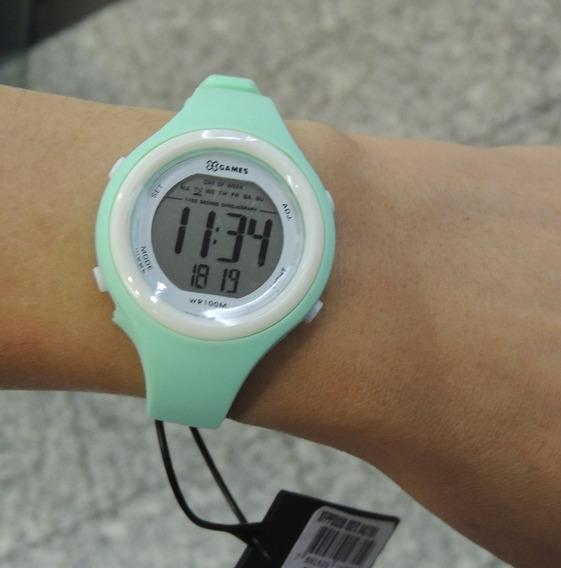 Relógio Feminino Digital X Games Mod: Xfppd038 Bxfx ( Nf)