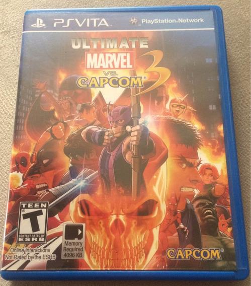 Jogo Psvita Marvel Vs Capcom 3 Ps Vita
