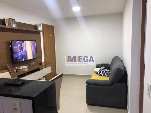 Apartamento Com 2 Dormitórios À Venda, 48 M² Por R$ 222.600 - Jardim Antonio Von Zuben - Campinas/sp - Ap4954
