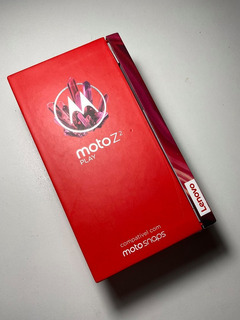 Caixa Vazia Original Moto Z2 Play Xt1710 + Manuais