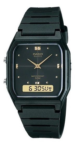 Relógio Casio Masculino Vintage Aw-48he-1avdf Anadigi