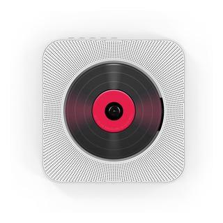 Reproductor De Cd Montado Pared Altavoces Bluetooth Audio Ca