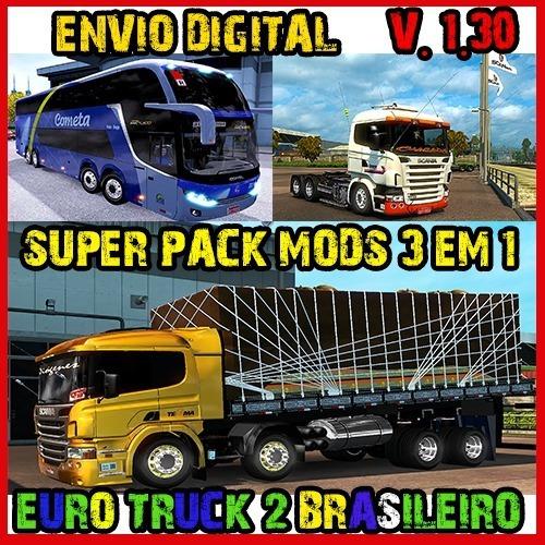 Euro Truck Simulator 2 Pc - Mods Top Brasil