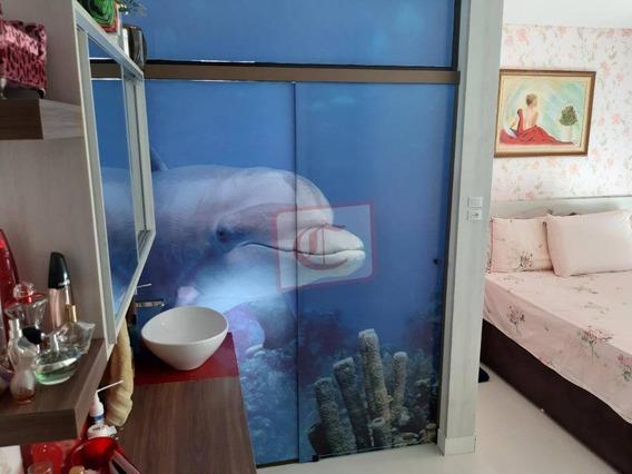 Apartamento Com 2 Dormitórios À Venda, 140 M² Por R$ 750.000 - Ariribá - Balneário Camboriú/sc - Ap1115