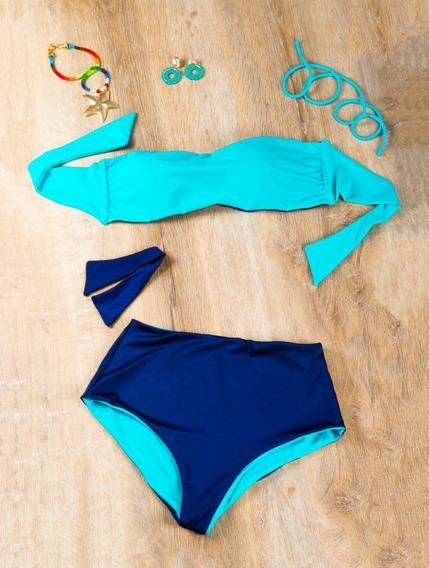 Vestido De Baño Bikini Multiusos