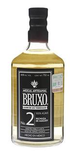 Mezcal Bruxo Joven Nº2 Agave 100% X 750ml Mexico