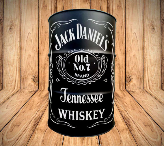 Adesivo Decorativo Jack Daniels Tambor Tonel Barril 200l