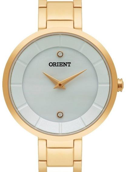 Relógio Orient Feminino Fgss0049 B1mx Dourado - Nota Fiscal