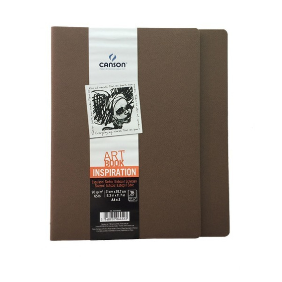 Libreta Art Book Inspiration 2 Pack 21 X 29.7 96 G/m2