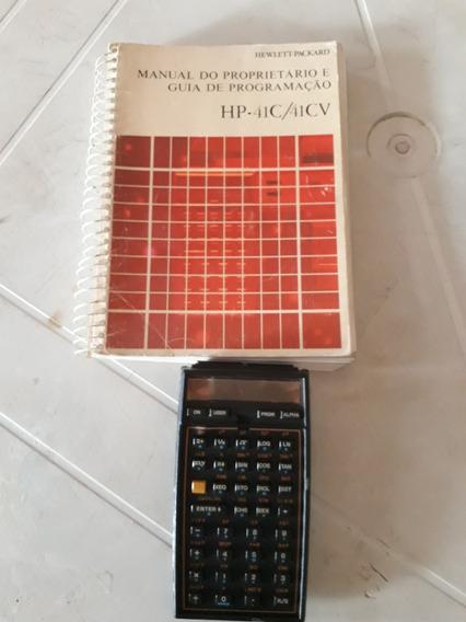 Manual Hp 41cv