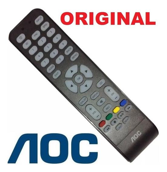 Controle Original Todos Modelo Tv Aoc Brasil Sem Netflix Fav