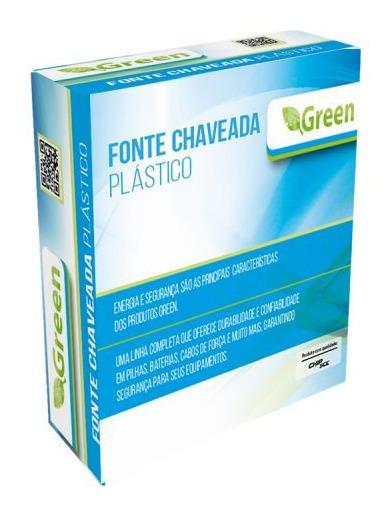 Fonte Chaveada Plastica 5v 1a Green