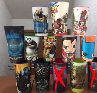 Vasos Cine Cinemex Cinepolis Batman Toy Story Disney