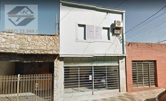 Sobrado Com 3 Dormitórios À Venda, 311 M² Por R$ 537.018,00 - Centro - Capivari/sp - So0911