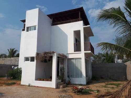 Casa De Playa En Venta En Puerto Escondido
