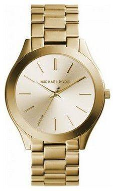 Relógio Michael Kors Mk3179 Slim Dourado