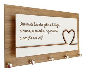 Porta Chaves E Cartas Paz Em Familia Momento Casa