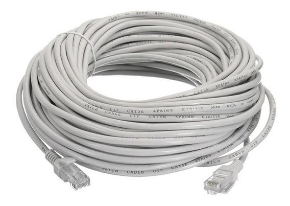 Cable Internet 5 Metros Utp Red Lan Con Conectores Modem M