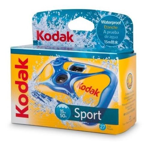 Câmera Descartável Kodak Aquatica