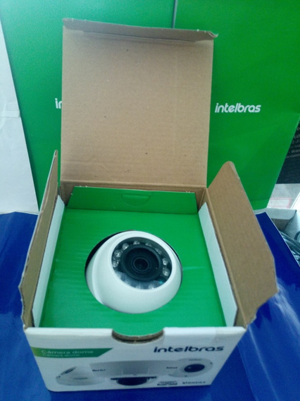 Câmera Dome Intelbras Vhd 1010 D. Ir Hdvci. 10mts.lente3,6mm
