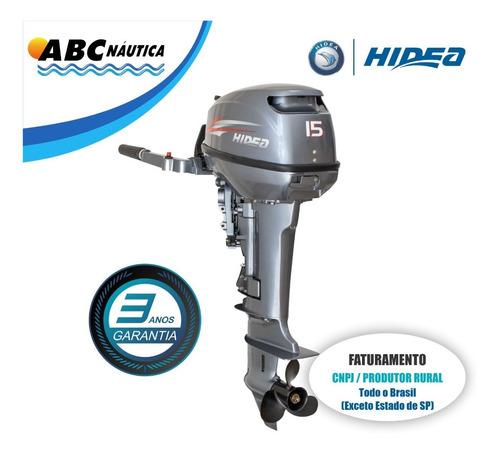 Motor De Popa 15hp Hidea Leia Anúncio
