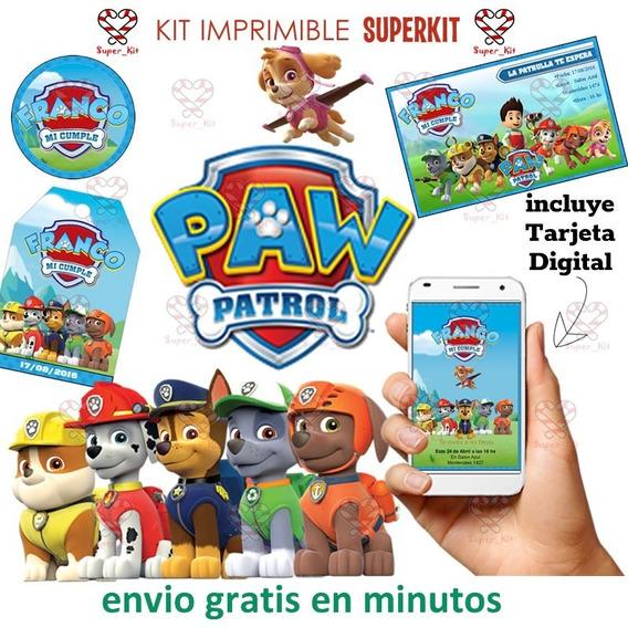 Kit Imprimible Patrulla Canina Paw Patrol Promo 2x1 2020