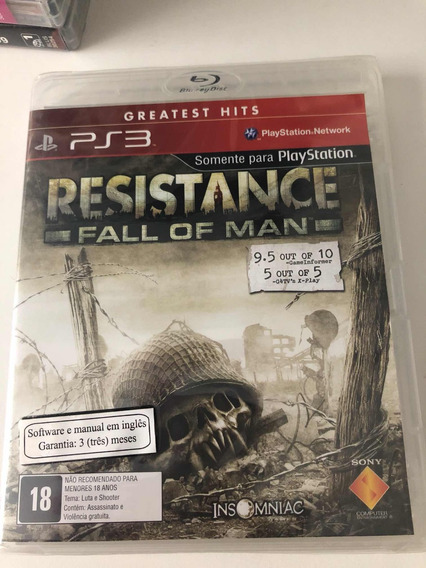 Resistance Fall Of A Man Ps3