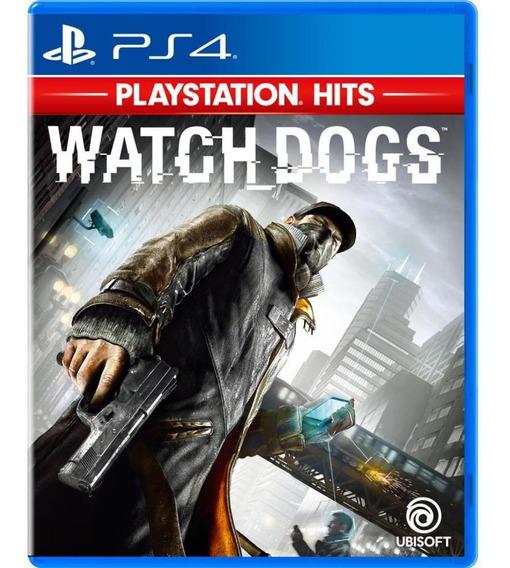 Watch Dogs Playstation Hits Ps4 Mídia Física Novo Lacrado