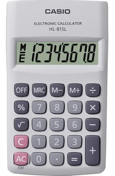 Calculadora Casio Hl 815