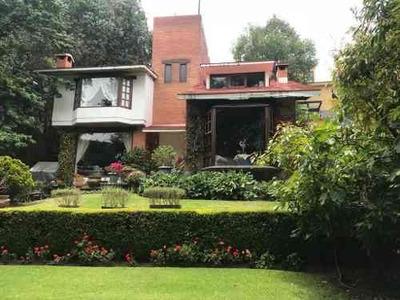 Contadero Amueblada Casa Frente Cañada Boscosa
