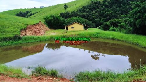 Fazenda 65 Alqueires Com Nascentes Na Região De Cunha- Sp - 1889