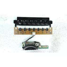 Kit Lvds Flat Cabos Sensor Ir Botão Alto Falantes Lg 42pg20r