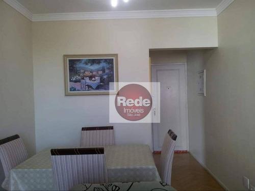 Apartamento À Venda, 65 M² Por R$ 265.000,00 - Parque Industrial - São José Dos Campos/sp - Ap4052