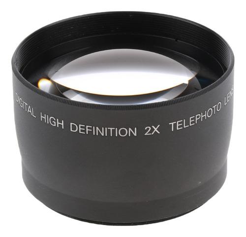 Imagen 1 de 7 de Teleobjetivo De Aumento 2x De 58 Mm Para Las Cámaras Canon