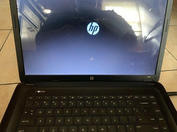 Laptop Hp 2000 Dañada