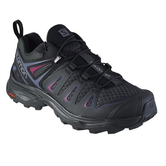 Zapatillas Salomon X Ultra 3 Mujer Gra/bl