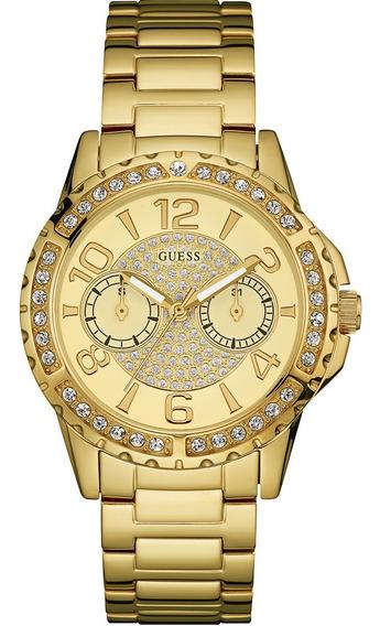 Relógio Feminino Guess Dourado 92591lpgsda1