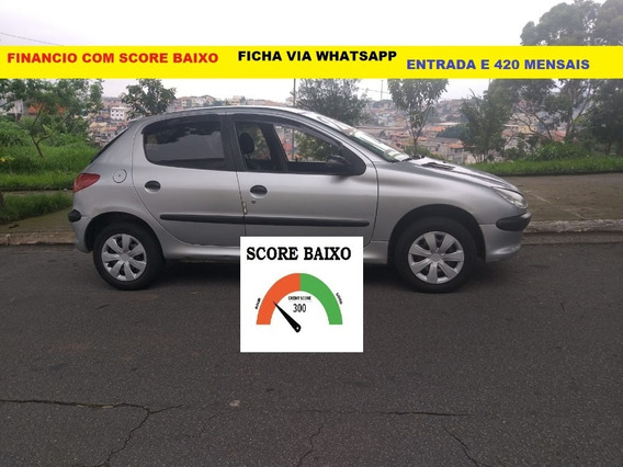 Financiamento Com Score Baixo Financio Peugeot 206