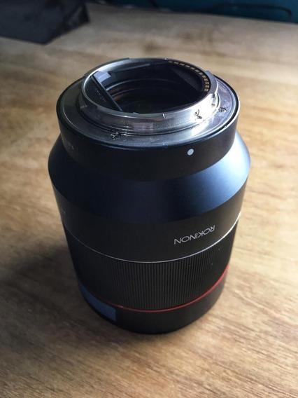 Lente Para Sony - Rokinon Af 50mm 1.4 Ef