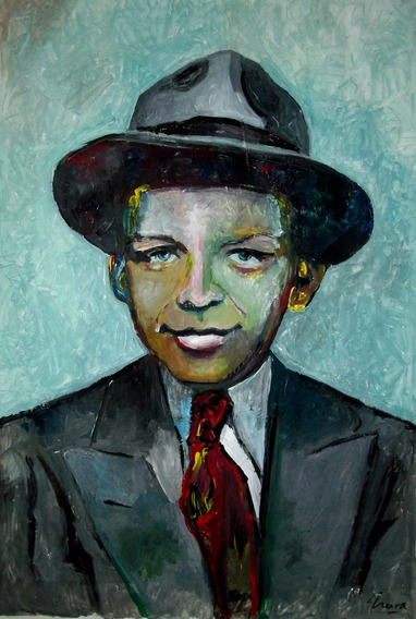 Frank Sinatra Niño ! Original Marcelo Neira Tiempodeshow