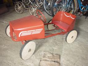 Brinquedo Antigo Calhambeque De Pedal 1940 Pedalcar De Ferro