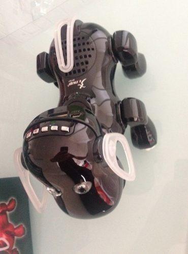 Robot Dog Mp3 Fm Usb Cartão Grava E Muda A Voz