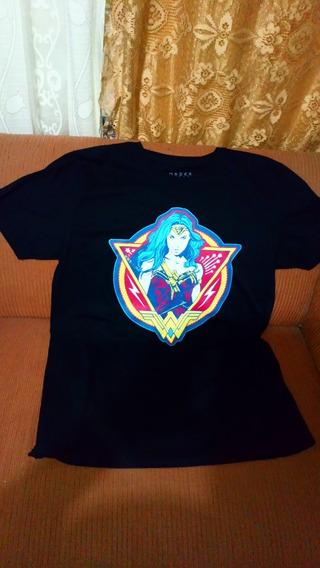 Playera Wonder Woman Original Dc Comics Talla L